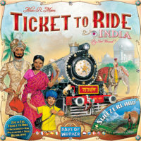 TICKET TO RIDE - ESPANSIONE INDIA + SWITZERLAND