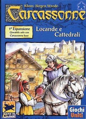 CARCASSONNE: LOCANDE E CATTEDRALI