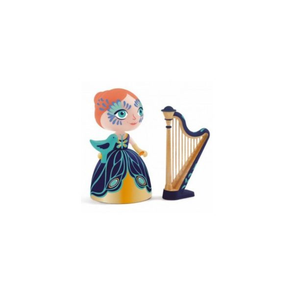 djeco arty toys princesse elisa ze harpe