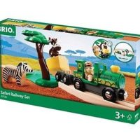 BRIO SET FERROVIA SAFARI